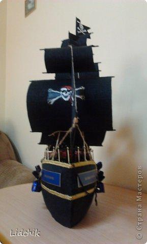 Всем пламенный привет! Вот закончила в пятницу новый кораблик, который делала по МК Аллочки-Аллуши, за что ей огромное спасибо! Хочу показать вам то что у меня вышло (когда стала фоткать, то поняла где и как накосячила!) В общем меньше слов, а большое фоток.... фото 10