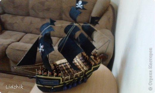 Всем пламенный привет! Вот закончила в пятницу новый кораблик, который делала по МК Аллочки-Аллуши, за что ей огромное спасибо! Хочу показать вам то что у меня вышло (когда стала фоткать, то поняла где и как накосячила!) В общем меньше слов, а большое фоток.... фото 11