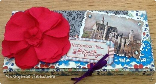 Подарочная упаковка для шоколадки1 фото 2