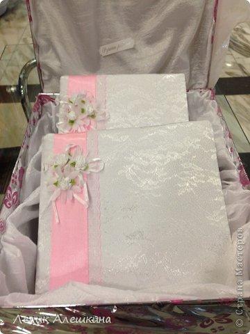 Мой самый первый свадебный набор для подружки. Книга пожеланий и папка для свидетельства фото 1