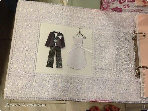 Мой самый первый свадебный набор для подружки. Книга пожеланий и папка для свидетельства фото 4