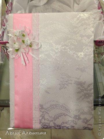 Мой самый первый свадебный набор для подружки. Книга пожеланий и папка для свидетельства фото 7
