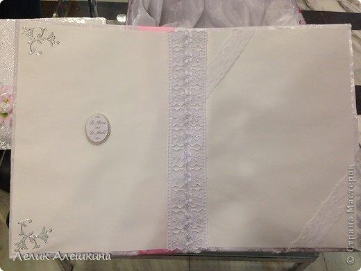 Мой самый первый свадебный набор для подружки. Книга пожеланий и папка для свидетельства фото 8