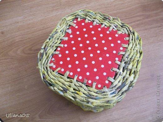 Плетенка для карандашей  фото 3