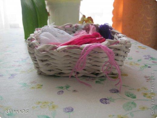 Плетенка для карандашей  фото 8