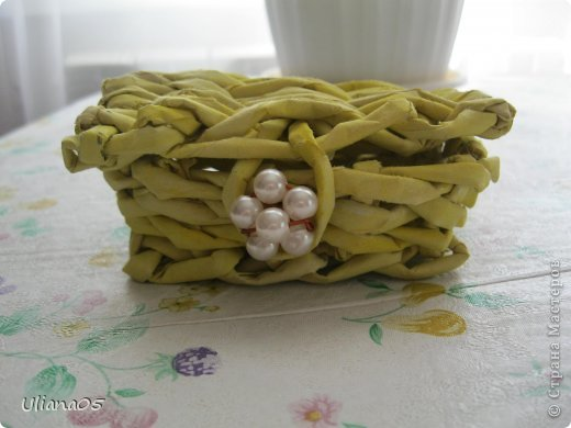 Плетенка для карандашей  фото 9