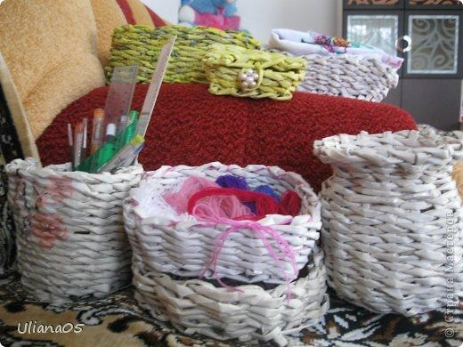 Плетенка для карандашей  фото 10