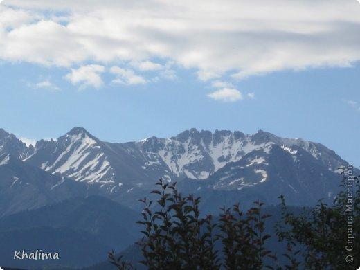 """Доброго времени суток, уважаемые жители и гости СМ! Хочу показать Вам наши снежные горы - Заилийский Алатау, северный склон Тянь-Шаня. Мы эту вершину называем """"Мексиканская шляпа"""". Правда похожа? И это все нам видно с нашего окна. Наши горы - наша гордость! фото 4"""