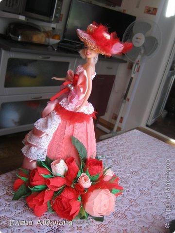 Куклу делала первый раз и для пробы взяла барби подешевле.......она оказалась лысая))))))))ужас))))))что продают детям..... фото 2