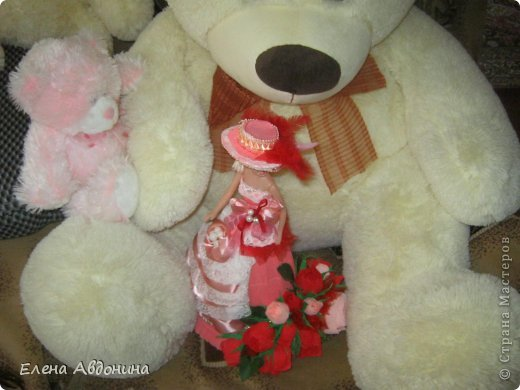 Куклу делала первый раз и для пробы взяла барби подешевле.......она оказалась лысая))))))))ужас))))))что продают детям..... фото 10
