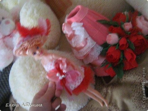 Куклу делала первый раз и для пробы взяла барби подешевле.......она оказалась лысая))))))))ужас))))))что продают детям..... фото 12
