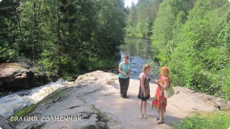 """Здравствуйте, любители путешествовать. Предлагаю вам с нашей группой совершить экскурсию """"Водопады Питкярантского района Карелии"""". Вы увидите как прекрасен наш край- Карелия и может захотите приехать к нам. фото 8"""