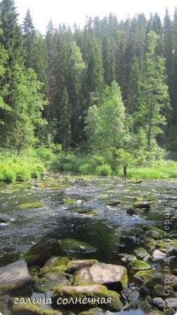 """Здравствуйте, любители путешествовать. Предлагаю вам с нашей группой совершить экскурсию """"Водопады Питкярантского района Карелии"""". Вы увидите как прекрасен наш край- Карелия и может захотите приехать к нам. фото 18"""