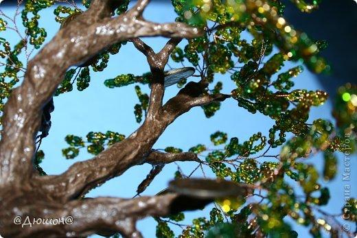 Добрый день!  Денежное деревце сплелось по мотивам..... см. выше автора skarabeya https://stranamasterov.ru/node/555693?t=2061. Очень мне нравятся ее работы. Выглянуло солнышко и я решила еще раз сфоткать деревце со слоником.... фото 2