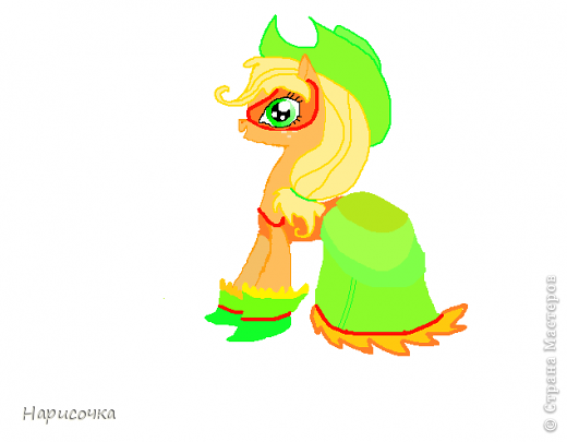 Привет! Сегодня я хочу вам показать свою коллекцию нарисованных пони из мультсериала Мой маленький пони Дружба это магия. Сначала я представлю своих пони, а затем героев мультика и схемки пони. фото 39