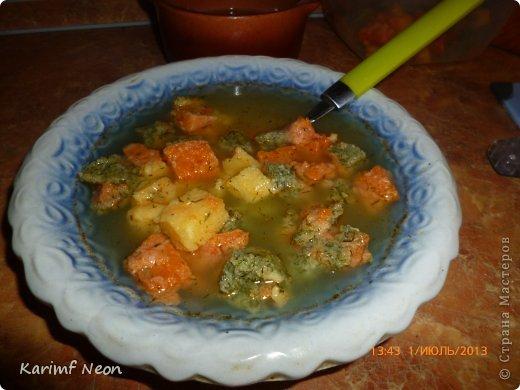 Люблю Вас! Вот решил попробовать рецепт интересного супа. Мне понравился. Очень легкий и нежный.  фото 1