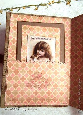 Картинка вдохновила на создание блокнота фото 13