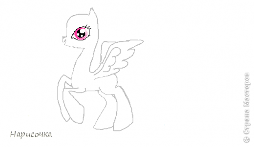 Привет! Сегодня я хочу вам показать свою коллекцию нарисованных пони из мультсериала Мой маленький пони Дружба это магия. Сначала я представлю своих пони, а затем героев мультика и схемки пони. фото 51