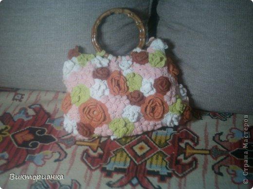 Вязанные сумки фото 3