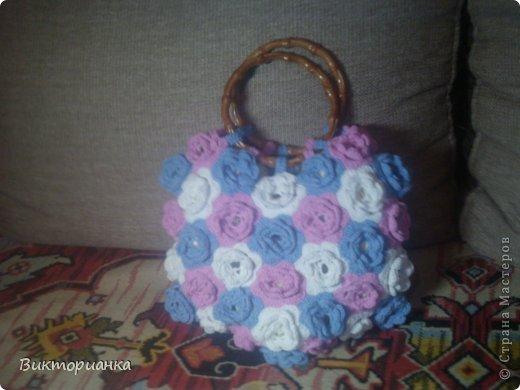 Вязанные сумки фото 5