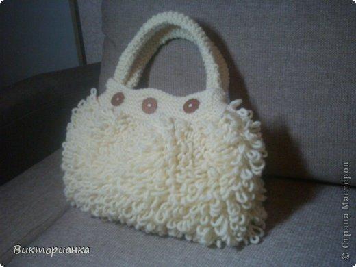 Вязанные сумки фото 4