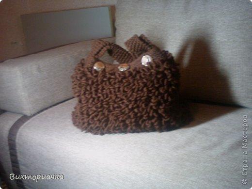 Вязанные сумки фото 6
