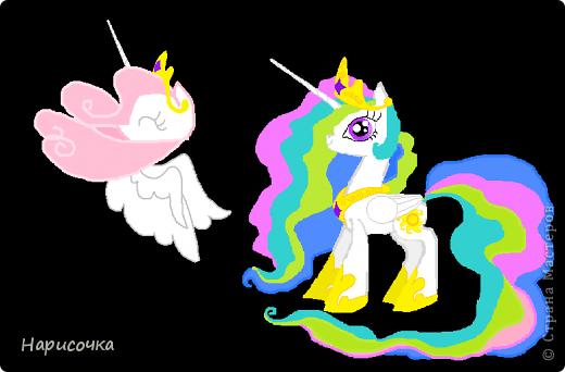 Привет! Сегодня я хочу вам показать свою коллекцию нарисованных пони из мультсериала Мой маленький пони Дружба это магия. Сначала я представлю своих пони, а затем героев мультика и схемки пони. фото 54