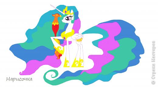 Привет! Сегодня я хочу вам показать свою коллекцию нарисованных пони из мультсериала Мой маленький пони Дружба это магия. Сначала я представлю своих пони, а затем героев мультика и схемки пони. фото 56