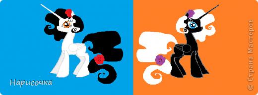 Привет! Сегодня я хочу вам показать свою коллекцию нарисованных пони из мультсериала Мой маленький пони Дружба это магия. Сначала я представлю своих пони, а затем героев мультика и схемки пони. фото 13