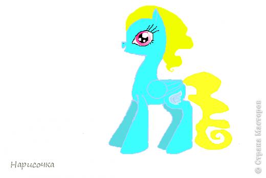 Привет! Сегодня я хочу вам показать свою коллекцию нарисованных пони из мультсериала Мой маленький пони Дружба это магия. Сначала я представлю своих пони, а затем героев мультика и схемки пони. фото 15