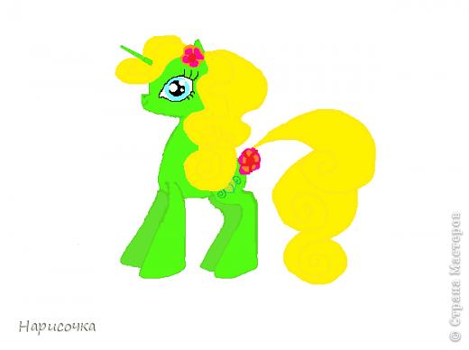 Привет! Сегодня я хочу вам показать свою коллекцию нарисованных пони из мультсериала Мой маленький пони Дружба это магия. Сначала я представлю своих пони, а затем героев мультика и схемки пони. фото 10