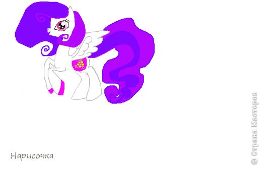 Привет! Сегодня я хочу вам показать свою коллекцию нарисованных пони из мультсериала Мой маленький пони Дружба это магия. Сначала я представлю своих пони, а затем героев мультика и схемки пони. фото 5