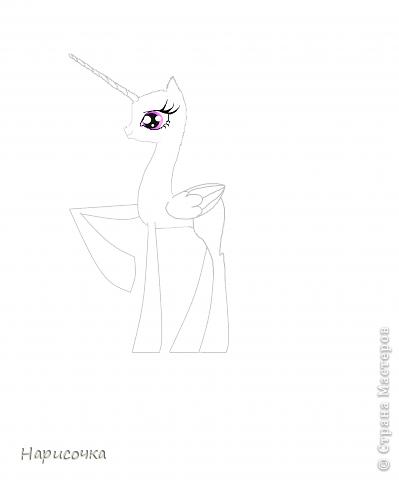 Привет! Сегодня я хочу вам показать свою коллекцию нарисованных пони из мультсериала Мой маленький пони Дружба это магия. Сначала я представлю своих пони, а затем героев мультика и схемки пони. фото 46