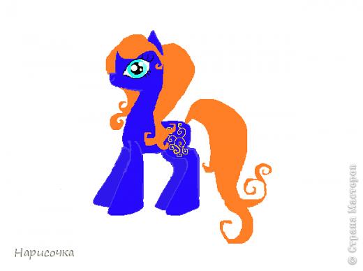 Привет! Сегодня я хочу вам показать свою коллекцию нарисованных пони из мультсериала Мой маленький пони Дружба это магия. Сначала я представлю своих пони, а затем героев мультика и схемки пони. фото 7