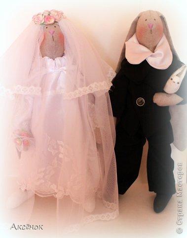 Свадебные зайцы фото 1