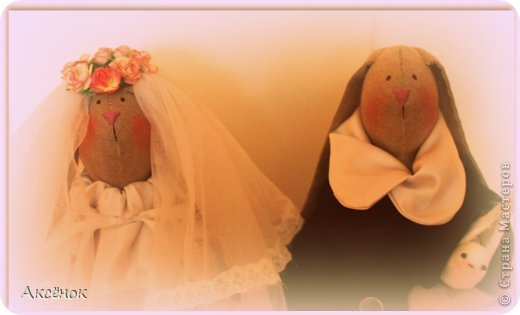 Свадебные зайцы фото 2