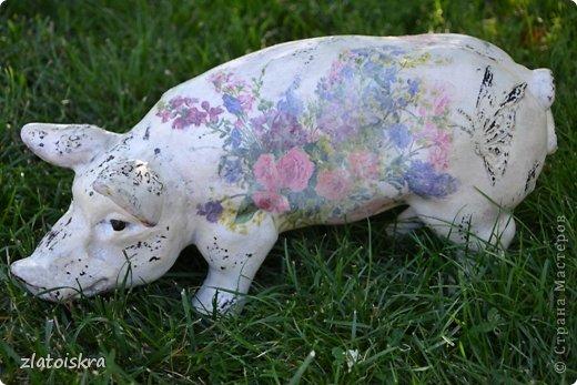 Здравствуйте, дорогие жители СМ! Решила обновить фигурки животных, стоящие у нас во дворе - они немного выгорели и потеряли вид. Вот такие они сейчас. фото 11