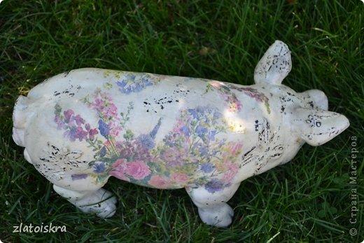 Здравствуйте, дорогие жители СМ! Решила обновить фигурки животных, стоящие у нас во дворе - они немного выгорели и потеряли вид. Вот такие они сейчас. фото 14
