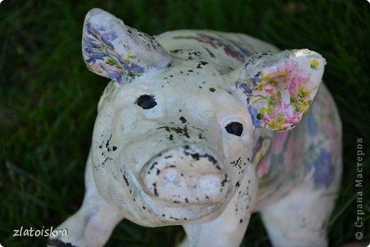 Здравствуйте, дорогие жители СМ! Решила обновить фигурки животных, стоящие у нас во дворе - они немного выгорели и потеряли вид. Вот такие они сейчас. фото 15