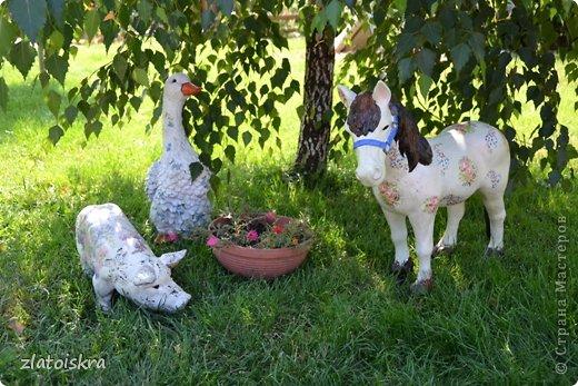 Здравствуйте, дорогие жители СМ! Решила обновить фигурки животных, стоящие у нас во дворе - они немного выгорели и потеряли вид. Вот такие они сейчас. фото 19
