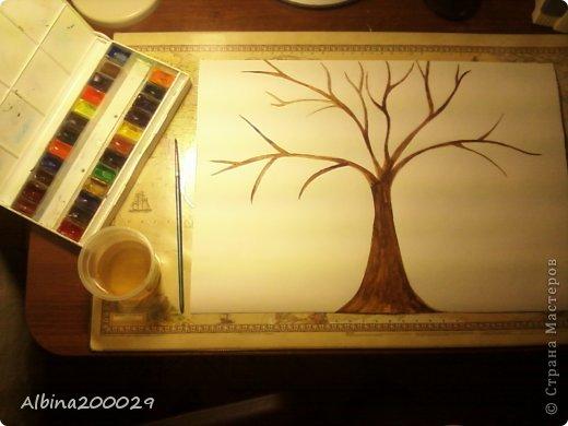 Здравствуйте, жители Страны Мастеров! Сегодня я решила сделать дерево и заодно создать мастер-класс. фото 4