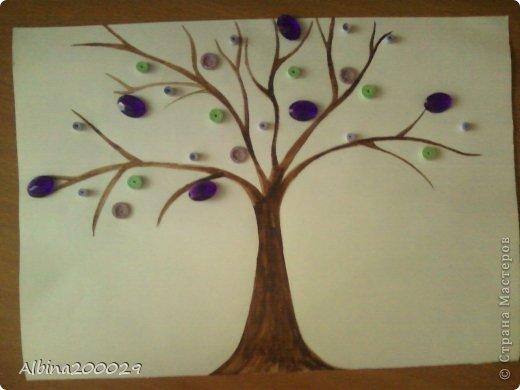 Здравствуйте, жители Страны Мастеров! Сегодня я решила сделать дерево и заодно создать мастер-класс. фото 8