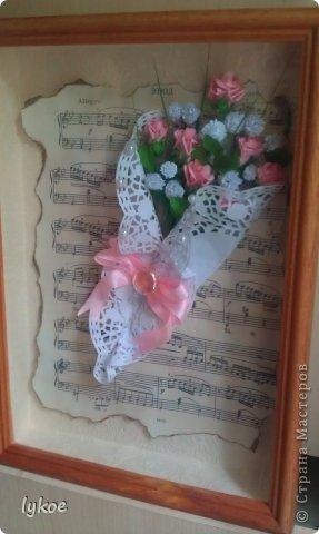 Розы с нотами