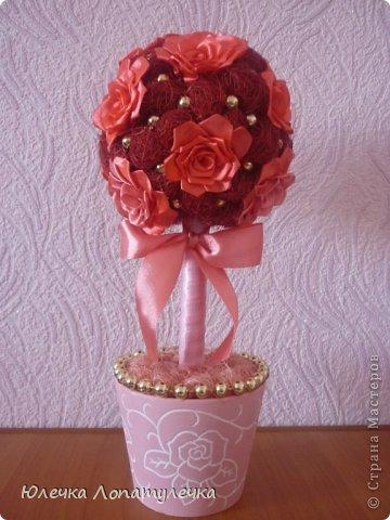 Сизаль и атласные цветы фото 1