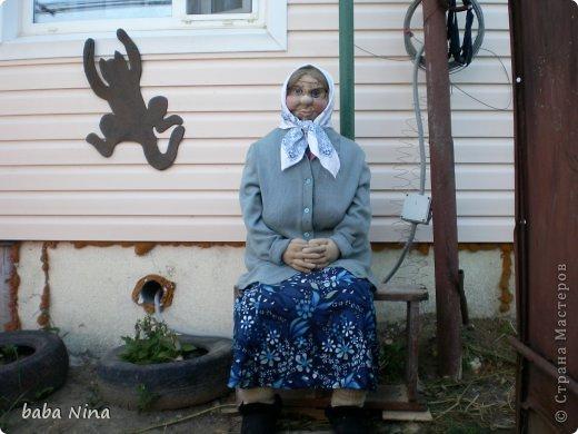 Оцените мою новую работу.Вот сшила себе новую бабушку,пусть теперь живет у меня. фото 3