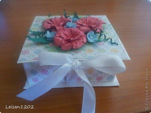 Коробочка для маленького подарка или для денег фото 2