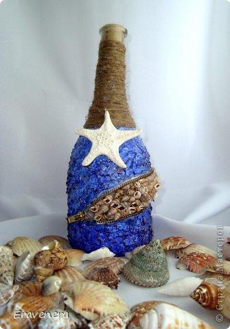 """Бутылка """"Алые паруса"""" сделана для подруги на день рождения с наилучшими поздравлениями фото 4"""