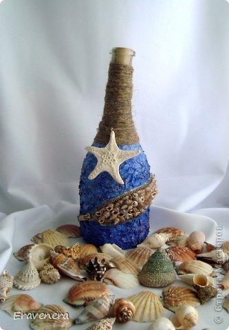 """Бутылка """"Алые паруса"""" сделана для подруги на день рождения с наилучшими поздравлениями фото 7"""