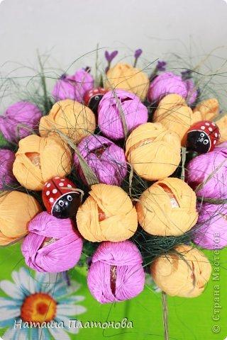 Вроде и не весна на дворе, а захотелось крокусов)))))))) фото 1