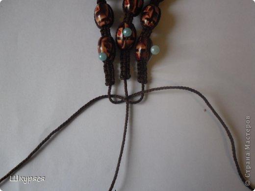 По просьбе выкладываю МК плетения тройной шамбалы. Это конечный результат фото 12